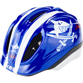 KED Meggy Originals Casco Niños, sharky blue